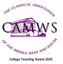 CAMWS Teaching Award 2020